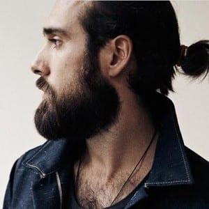 Christian Goran barba hipster