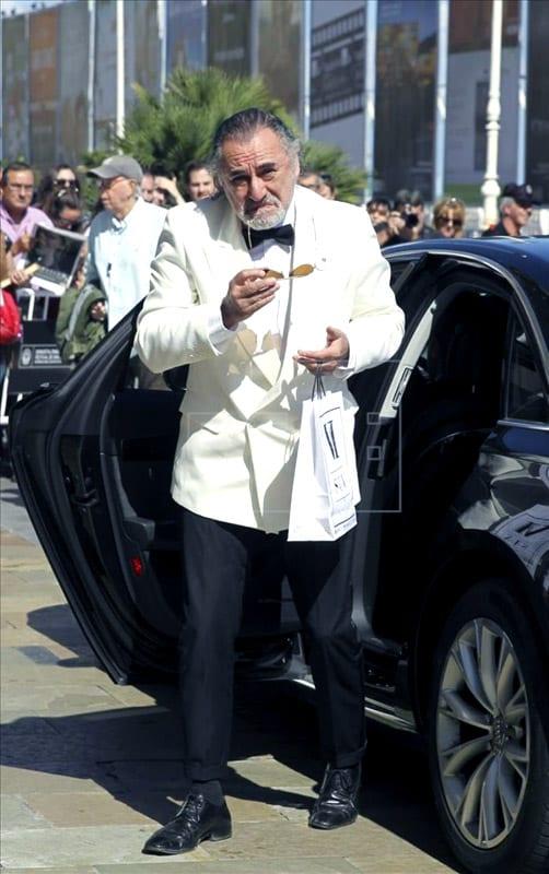 Falso Robert de Niro en San Sebastián